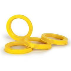 Центровочные кольца 69.1/66.1 TPI стекловолокно EU color  CUPs