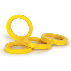 Центровочные кольца 72.5/66.1 TPI стекловолокно EU color  CUPs