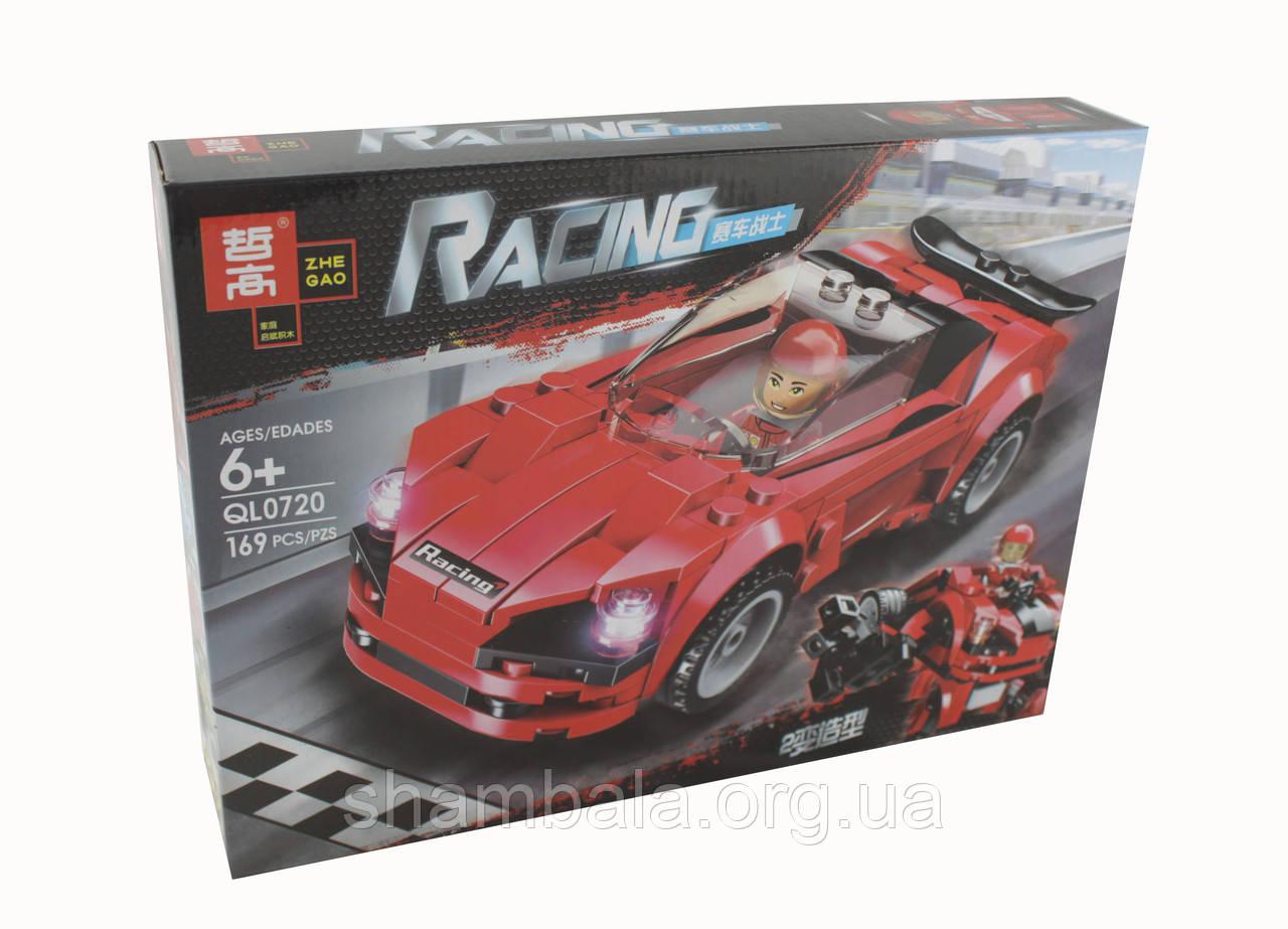 Трансформер Zhe Gao Racing красный (085548)