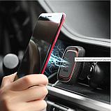 Автомобильный держатель для телефона магнитный HOCO CA23 Lotto Черный, фото 5