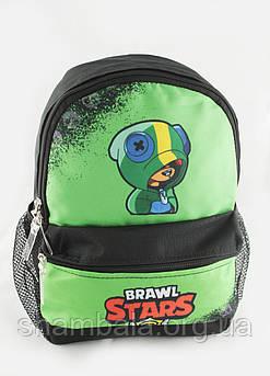 Рюкзак дитячий Brawl Stars зелений (082752)