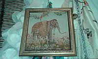 "Гобелен в раме ""Слон"" и ""Верблюд"", фото 1"