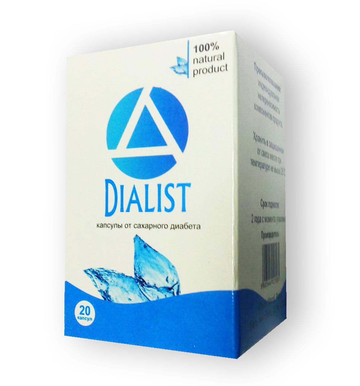 Dialist - Капсулы от диабета (Диалист)