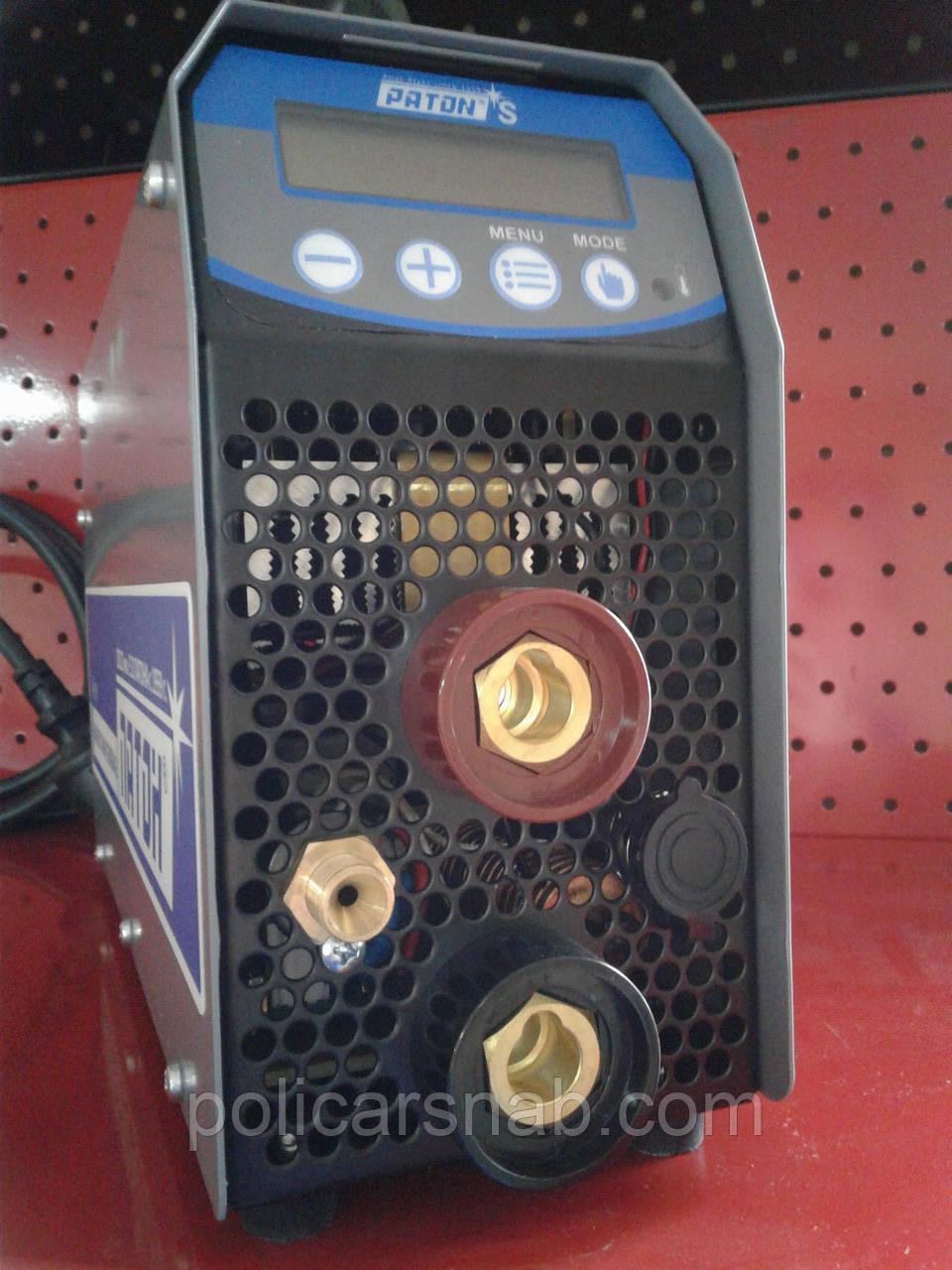 Аргонодуговий цифровий інверторний випрямляч Патон™ АДІ-200S DC TIG\MMA