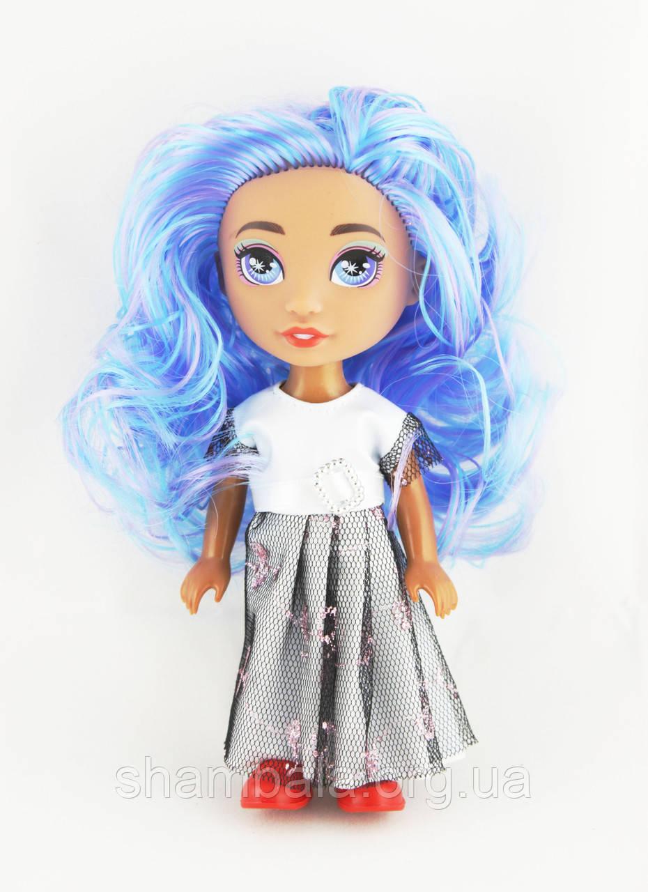 """Кукла """"Rainbow Surprise"""" фиолетовые волосы (082424)"""