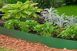 Бордюрна стрічка садова Альта-Профіль з перфорацією 0,65х150х9000 мм жовтий від виробника, фото 10
