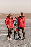 Теплий жіночий зимовий лижний костюм, фото 4