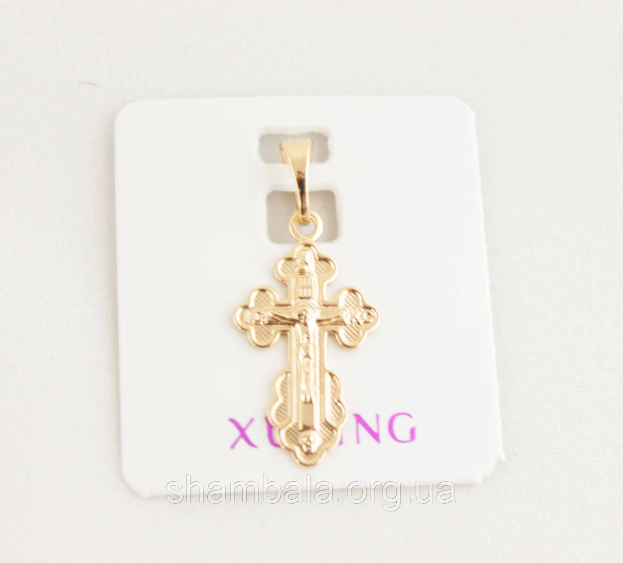 Кулон для подвески Xuping Jewelry крестик (082189)