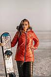 Теплий жіночий зимовий лижний костюм, фото 6