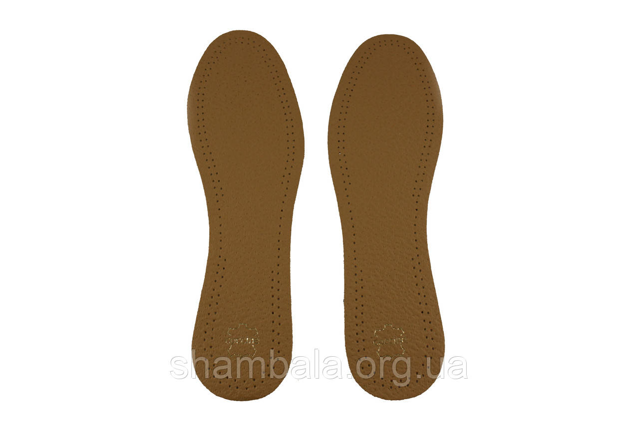 Стельки для обуви Coccine Leather Premium Коричневые (089294)