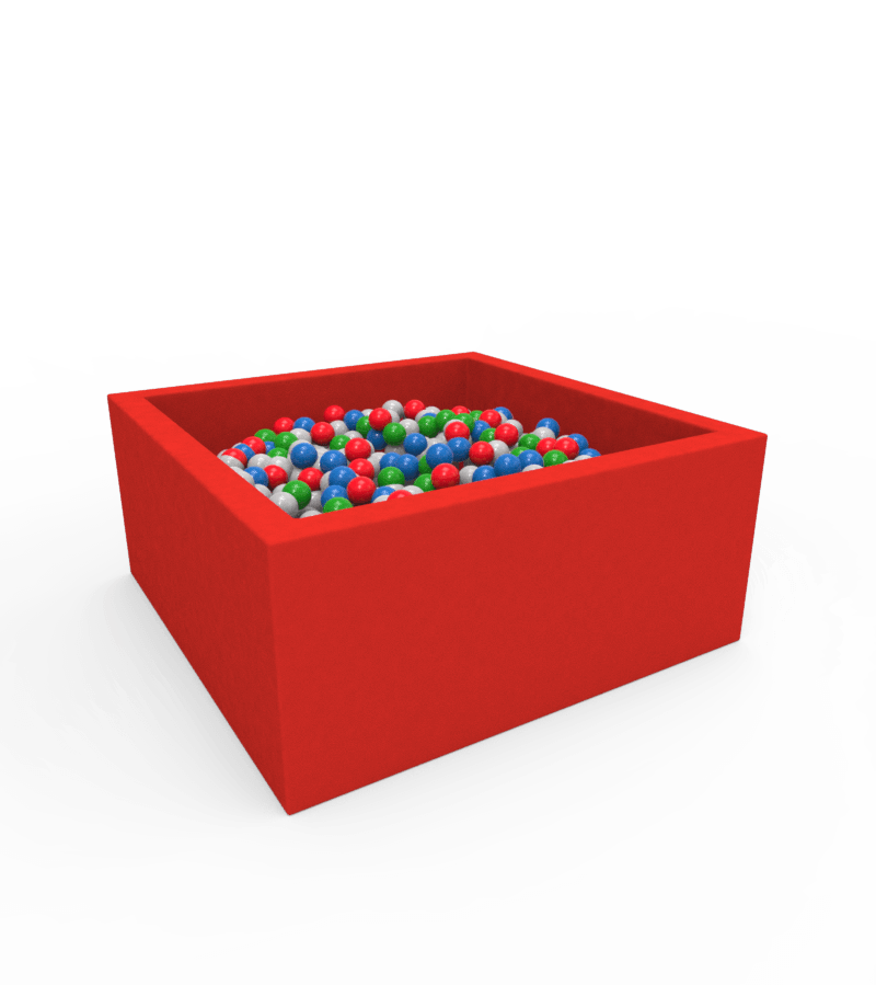 Сухий басейн з кульками   Lucky Квадратний