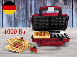 Немецкая вафельница Silver Crest SWR 1000 A1 RED