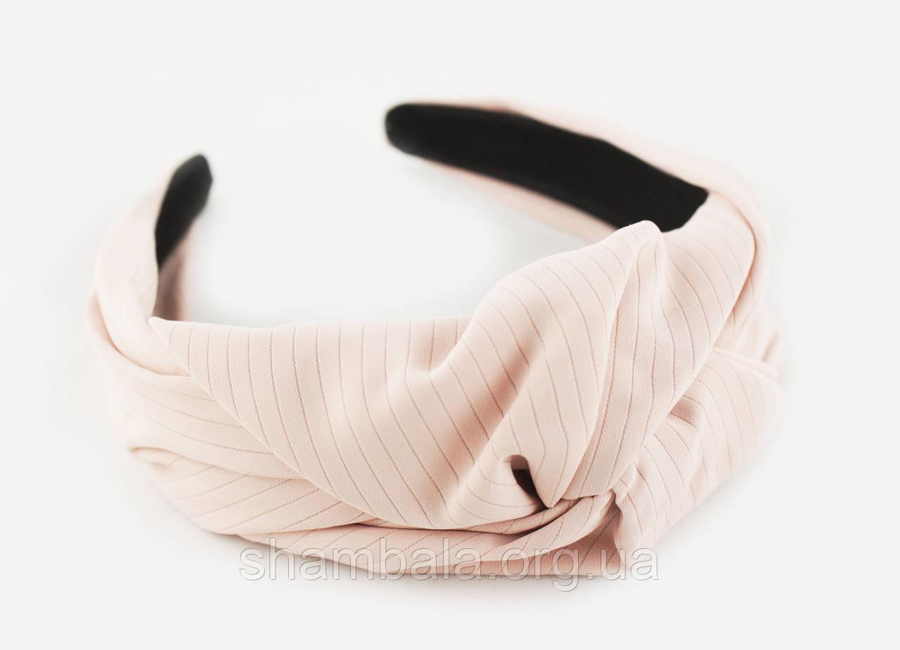 "Обруч-чалма для волос ""Light pink turban"" (082509)"