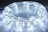 Новогодняя гирлянда белого свечения Xmas Rope Light Дюралайт Шланг LED (20 метров ), фото 2