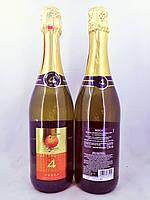 Вино игристое белое Quattro Valli Fragolino Pesca 0,75л
