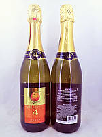 Вино ігристе біле Quattro Valli Fragolino Pesca 0,75 л
