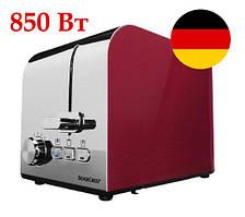 Немецкий тостер SilverCrest STS 850 D1 red metallic