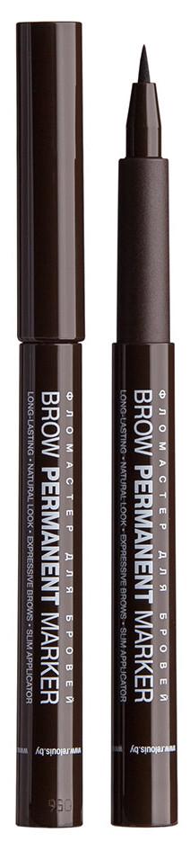Фломастер маркер для бровей Relouis Brow Permanent Marker 1.5 г № 03 DARK BROWN