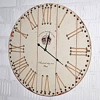 Настенные интерьерные часы деревянные (60 см.), фото 1