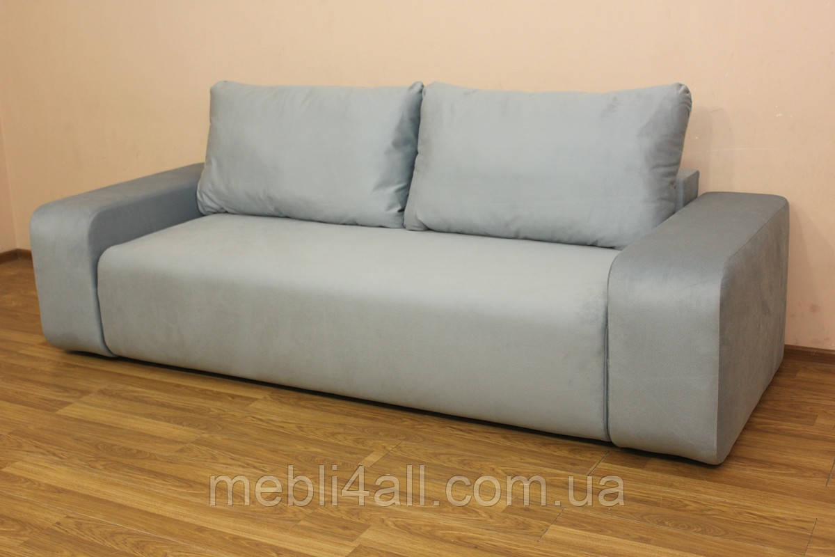 Современный широкий мягкий диван Герман