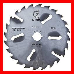 D450 d50 z24+6 диск АКУЛА з підрізними ножами по дереву