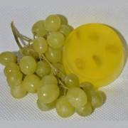 """Мыло """"Белый виноград"""" для лица, рук, тела ручной работы натуральное"""
