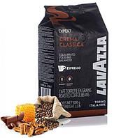 Кофе в зернах Lavazza Crema Classica 1кг Лавацца зерна кофе