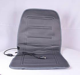 Накидка на сидіння з підігрівом сіра низька 12В (арт. DK-514GR)