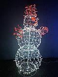 3D Фигура Скульптура Снеговик 2,4 м, фото 3