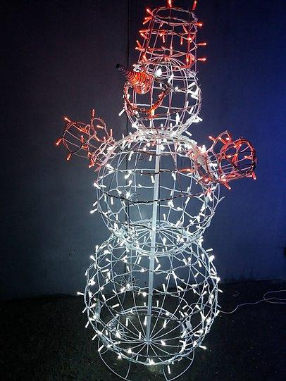 3D Фигура Скульптура Снеговик 2,4 м