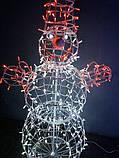 3D Фигура Скульптура Снеговик 2,4 м, фото 4