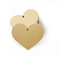 Бирка для подарков Сердце