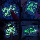 Двусторонний планшет для рисования светом Рисуй светом Люмик (формат А3 42х30см), фото 2