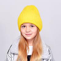 """Детская шапка """"Лола"""" желтый"""