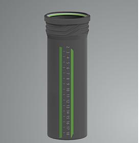 Труба канализационная ASG Plast 50х1.8