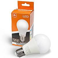 Лампа світлодіодна ЕВРОСВЕТ 12Вт 4200К A-12-4200-27 Е27, фото 1
