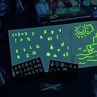 Альбом для рисования светом Рисуй светом Люмик (6 страниц 40х30см), фото 5