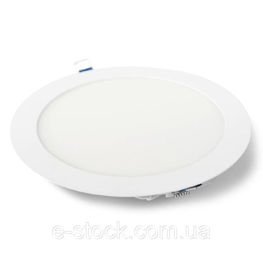 Светильник точечный врезной ЕВРОСВЕТ 18Вт круг LED-R-225-18 4200К