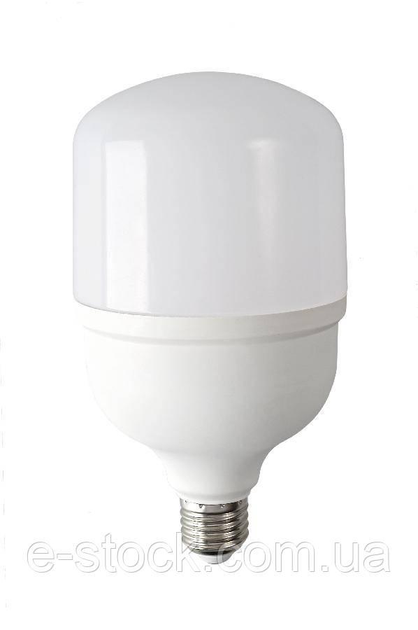 Лампа светодиодная высокомощная ЕВРОСВЕТ 40Вт 4200К (VIS-40-E27)