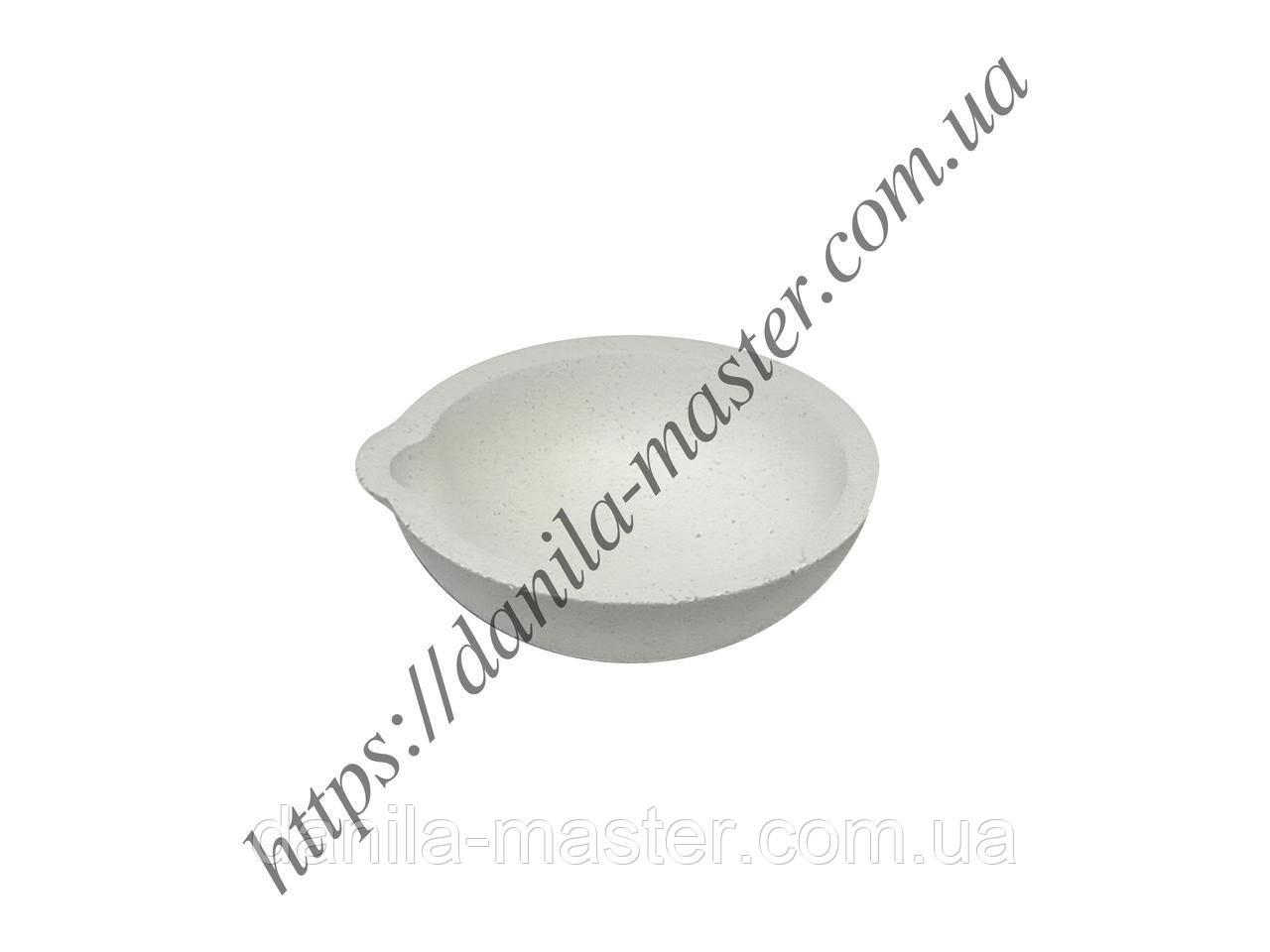 Тигель высокоогнеупорный керамический толстостенный №1а /Ø54 мм, h=20 мм/