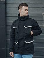 Куртка Staff black pocket чёрный UKK0020