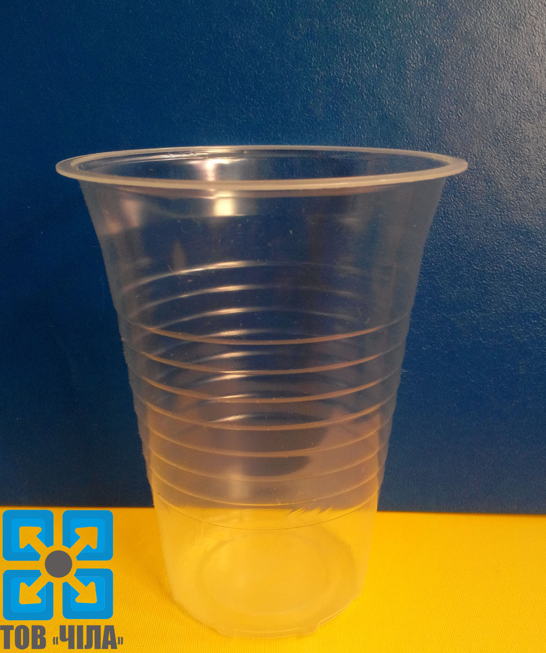 Одноразовый стаканчик пластмассовый 300 мл (100 шт.)