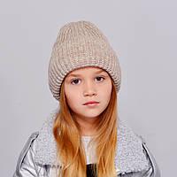 "Детская шапка ""Лола"" лен"