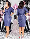 Стильное платье    (размеры 48-58) 0258-00, фото 2