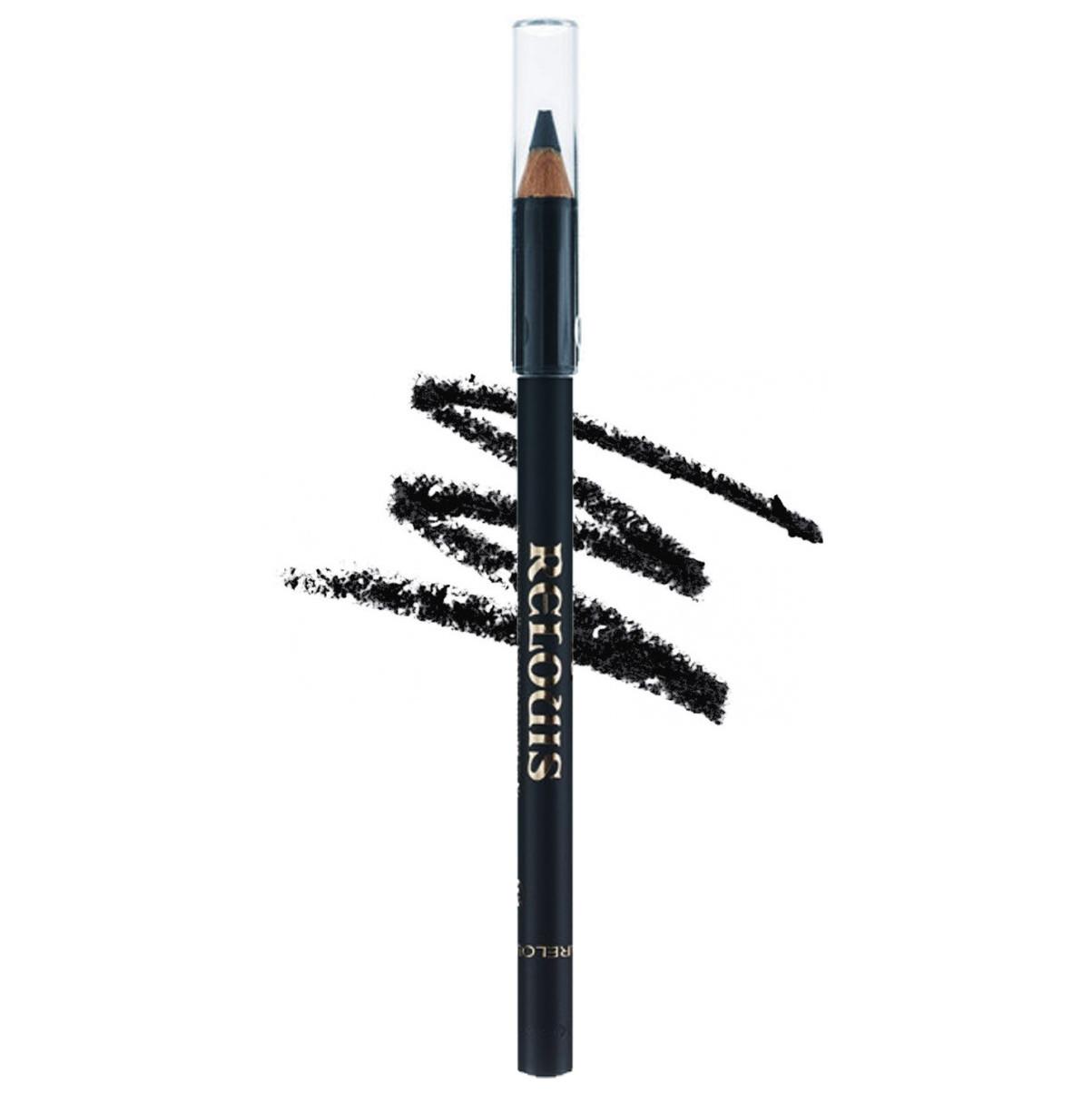 Контурний олівець для очей Relouis Relouis з вітаміном Е № 01 Чорний 1,13 г