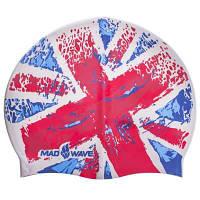 Шапочка для плавания MadWave UK M055515 (силикон, красный) Код M055515