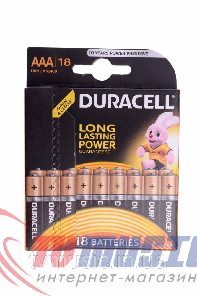 Батарейка Duracell AAA LR03 / MN2400