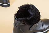 Угги кожаные черные женские 38 размер, фото 6