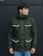 Куртка Staff hakhi pocket хаки UKK0021