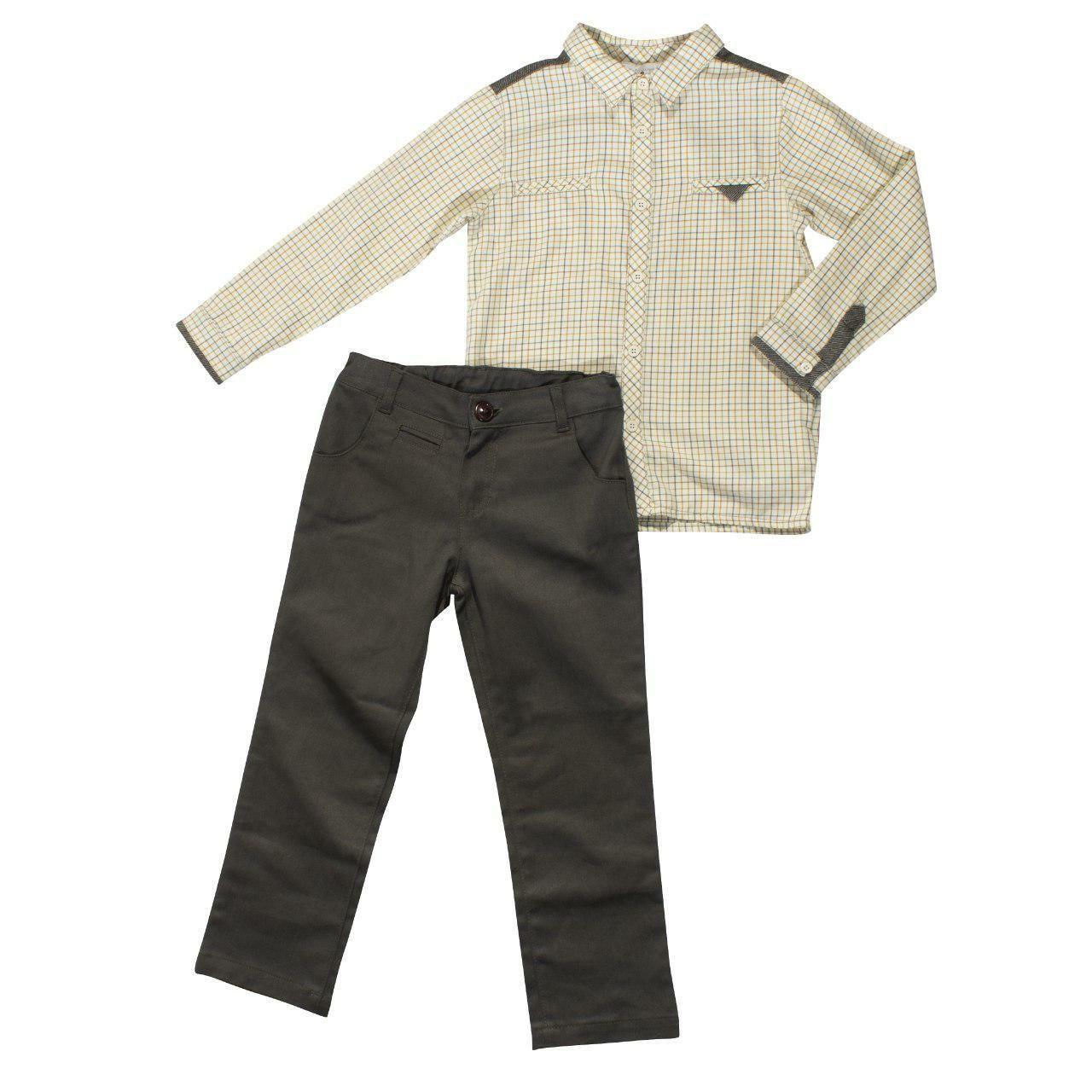 Костюм для хлопчика з двох предметів, розміри 5, 6, 7, 8 років